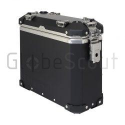 Aluminium Side Case 28L black