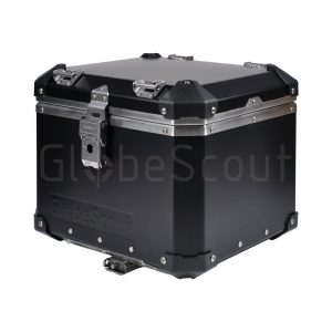 Aluminium Top Case 40L black